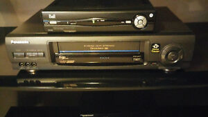 Panasonic VCR C/W Remote A1 Condition (Still being used)
