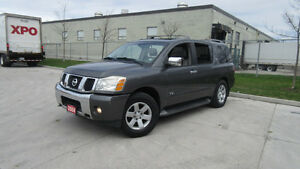 2004 Nissan Armada,DVD, 8 pass,Leather,Sunroof,3/Y Warranty avai