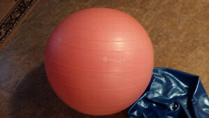 Exercise Ball - New, Blue