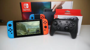 Nintendo Switch and controller For Sale