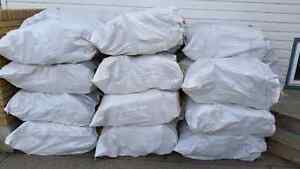 Huge Bags of Tamarack firewood