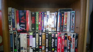 Dozens of DVD Movies/Hundreds of VHS Movies