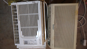 Two Window Air Conditioners