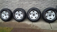 265/70/17 Ironman M&S Tires Ford 7x150 Bolt Pattern