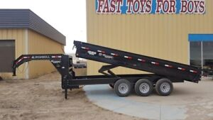 2018 Iron Bull Trailers GD14 16'