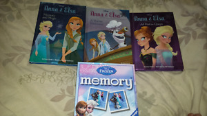 frozen series and memory game