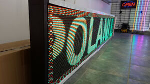 LED PROGRAMMABLE SCROLLING SIGN BLOWOUT SALE!!!