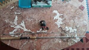 BAITCASTER ROD AND REEL COMBO FOR SALE (Like New)