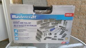 Outils Mastercraft 128 pieces (Brand New)