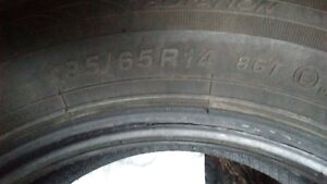 Four Ice Blazer Winter Tires  for sale (Nearly New!) Kingston Kingston Area image 1