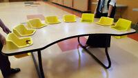 Toddler Table - 8 seat