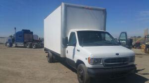 Ford E450 Cube Van
