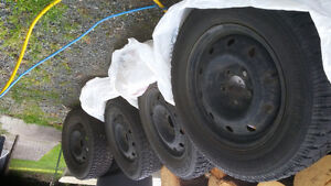 Four Goodyear Nordic Tires