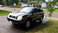 2004 Hyundai Santa Fe, Low kms, licensed and insp to Aug 2016!!