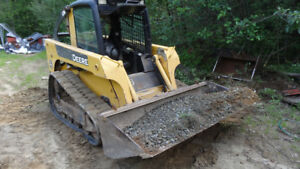 John Deere CT322 tracksteer to trade or sell