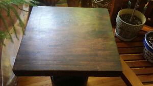 Hand carved Mahogany  accent table Kingston Kingston Area image 3
