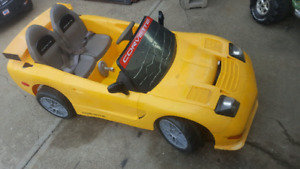12v Power wheels corvette