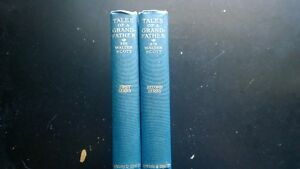 Tales of a Grandfather by Sir Walter Scott first&second series