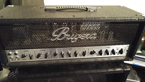 Bugera Head and Cab, Line 6 Relay, and assorted pedals