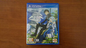 Sword Art Online Lost Song for PS Vita