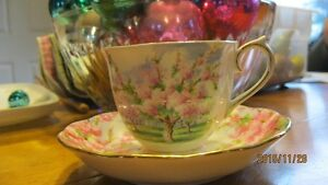 blossom time cup and saucer