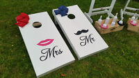 wedding cocktail games / Marquee Love sign (large) rental
