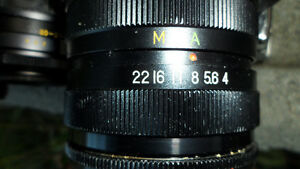 6 35mm Camera Lenses Various Mounts $60 All. Unknown mounts... Prince George British Columbia image 10