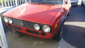 PART OUT 1986 Volkswagen Rabbit Cabriolet Convertible Mk1