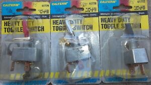 3 - HEAVY DUTY 35 amp TOGGLE SWITCHES, ON / OFF