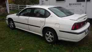 2003 Chevrolet Impala LS Sedan, Very good, Cert & E-test