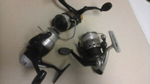 VARIOUS FISHING REELS
