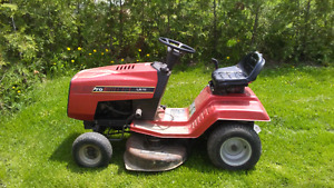 32 inch riding mower