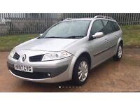 Renault megane estate 2007 1.6 49k miles full service history alloys 12 months mot clean car L@@K