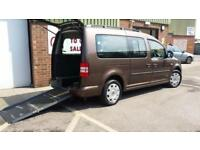 2013 VW Caddy Maxi Life AUTOMATIC Diesel Wheelchair Disabled Accessible Vehicle