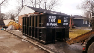 Flat Rate Garbage Bin Rentals 647-856-6902 10-40 Yard Bins!