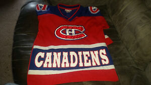 Boys Montreal Canadian jersey for a 5-10 year old...........