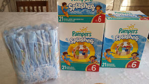 pampers splashers  gr 6