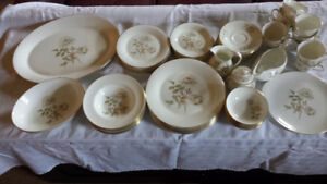 Royal Doulton Yorkshire Rose China Set in Mint Condition