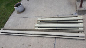 BASEBOARD HEATERS with Thermostats