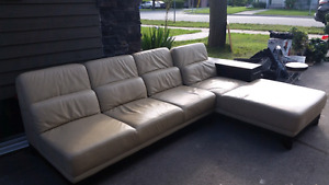 Leather couch- Like new.  $350 or best offer