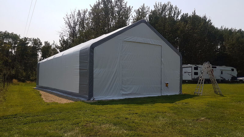 New Double Truss Storage Building Shelter Shed Rv Boat