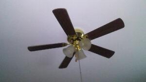 ventilateur de plafond, télécommande