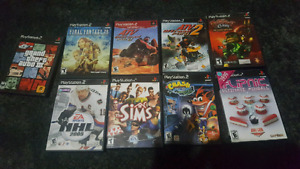 Popular PS2 Games 10$ each!