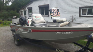 2008 LOWE 16.5ft Boat For Sale