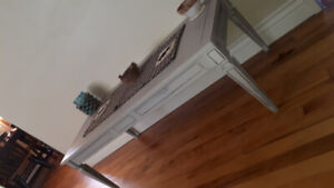 Refinished coffee table, real wood