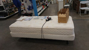 Electronic Adjustable Bed, New