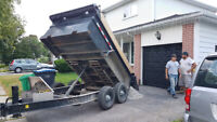 Demolition and Pick Up Truck and Dump Trailer for Hire