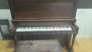 Piano Lesage, environ 1908 avec banc