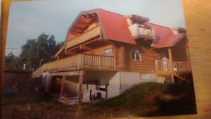 Log home for sale or rent