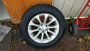 Winter tires on Alloy rims 235-65-R17